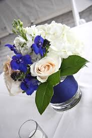 small centerpieces events low rf0539 small navy and white centerpiece