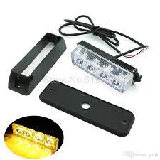led strobe lights for motorcycles 4 led car truck emergency beacon light bar led strobe light