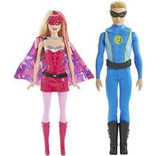 Barbie Ken Halloween Costume Amazon Barbie Princess Power Super Hero 2 Pack Duo