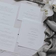 Wedding Invitation Cards In Nigeria Elegant Square Wedding Invitation Set By Lilac U0026 White