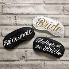 Wedding Gift Kl Wedding Sleep Masks Personalised Eye Mask Bridal Gift