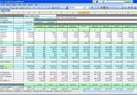personal financial plan template free excel and project budget