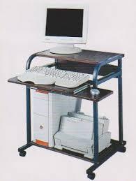 Small Metal Computer Desk Small Metal Computer Desk Dx 8209 Small Steel Wooden Computer Desk