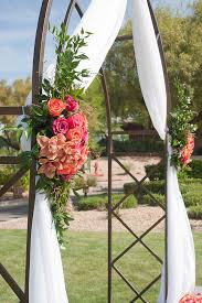 wedding arch las vegas enchanted florist las vegas wedding ceremony decor gallery