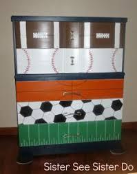 themed dresser painted basketball dresser that my emily bass