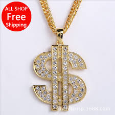aliexpress buy men jewelry high quality 2014 new jhnby inlay zircon dollar sign pendant high quality fashion hiphop
