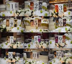 Wedding Table Numbers Ideas Table Number Plan Ideas Smashing The Glass Jewish Wedding Blog