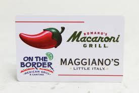 chili gift card 50 gift card chili s macaroni grill on the board maggiano s