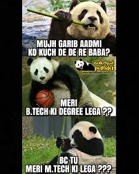 Funny Panda Memes - 9 bakchod panda memes that are just too funny