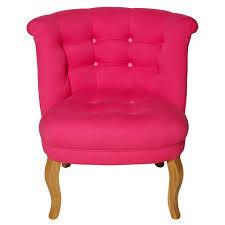 Tub Armchair Fuchsia Contrast Button Cotton Tub Chair Oliver Bonas