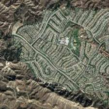 coc valencia map of the canyons map california mapcarta
