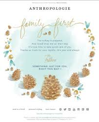 thanksgiving email inspiration robly marketing