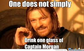 Captain Morgan Meme - one glass of captain morgan by recyclebin meme center