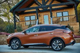 nissan murano trunk space 2015 nissan murano review