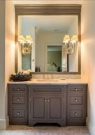 wall mounted vanity mirror with lights lighting and ceiling fans
