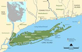 Nyc Maps Accurate Map Of Long Island By County New York Nassau Buy New