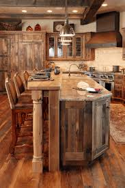 rustic kitchen design images fancy brown wooden coutner sleek