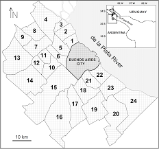 Buenos Aires Map Evaluation Of An Emission Inventory And Air Pollution In The