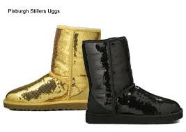 ugg s boots black black and yellow steelers uggs in boring pittsburgh