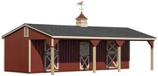 Lean To Barns Amish Built Horse U0026 Monitor Barns For Sale In Catskill Ny Amish