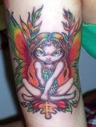 Fairy And Flower Tattoo Designs Fairy Tattoos Fairy Tattoo Designs And Fairy Tattoo Meanings