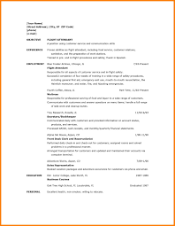 flight attendant resume template 6 flight attendant resume sle with no experience points of origins