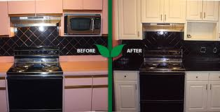 first certified green refinishing company in tampa area kitchen cabinets and countertops refinishedcountertops tile cabinets reglazed cabinets refaced with raised panel hidden hinge doors