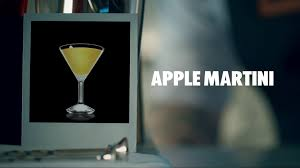 apple martini drink recipe how to mix youtube
