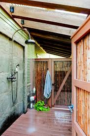 Teak Outdoor Shower Enclosure by 73 Best Outdoor Showers Images On Pinterest Outdoor Showers