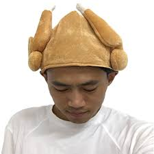 turkey hat turkey hats plush thanksgiving day roasted turkey