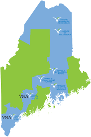 Portland Maine Map by Vna Home Health Hospice In Home Care Lifestages South