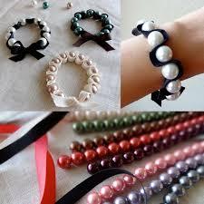 diy bracelet elastic images Twinkle and twine tutorial ribbon and pearl stretch bracelets jpg