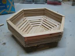 popsicle stick basket 7 steps with pictures