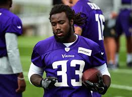 rookie rb dalvin cook listed as starter on vikings first depth chart