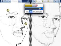 interactive sketchbook for ipad