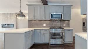 kitchen with grey cabinets and white appliances kitchen colors with gray cabinets designing idea