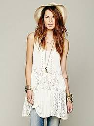 free people pieced lace tunic just bought this in purple style
