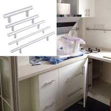 Kitchen Cabinet Stainless Steel Kitchen T Bar Stainless Steel Cabinet Door Handles Drawer Knobs Pulls