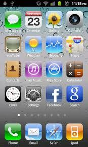 apk iphone iphone 4s theme launcher apk 1 8 6