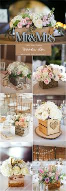 centerpiece ideas for wedding rustic country wooden box wedding centerpieces http www