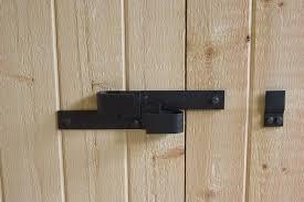 Sliding Barn Door Latch by How To Lock A Sliding Barn Door Barn And Patio Doors