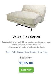 Dual Adjustable Beds Flex A Bed Adjustable Beds Ship Free