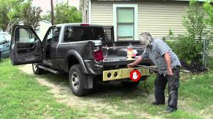 ford ranger bed 2004 ford ranger flatbed project part01 removing truck bed
