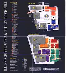 Garden State Plaza Map by The Mall At The World Trade Center New York New York Labelscar