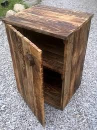 Build Wood End Tables by Best 25 Pallet Night Stands Ideas On Pinterest Diy Furniture