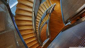 spiral stairs hd desktop wallpaper widescreen high definition