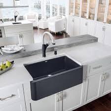 granite composite farmhouse sink blanco ikon 30 apron front granite composite sink in silgranit