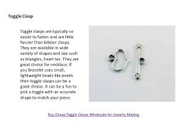 Toggle Clasps For Jewelry Making - list of popular clasps for jewelry making