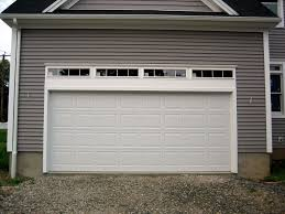 how big is a one car garage standard garage door sizes standard heights and weights traba homes