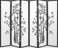 White Room Divider Screen Screens U0026 Room Dividers Ebay